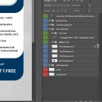 Sky Licensing Info Boxes PSD Layers Preview