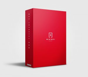 Minimal Audio premade Drumkit Box Design