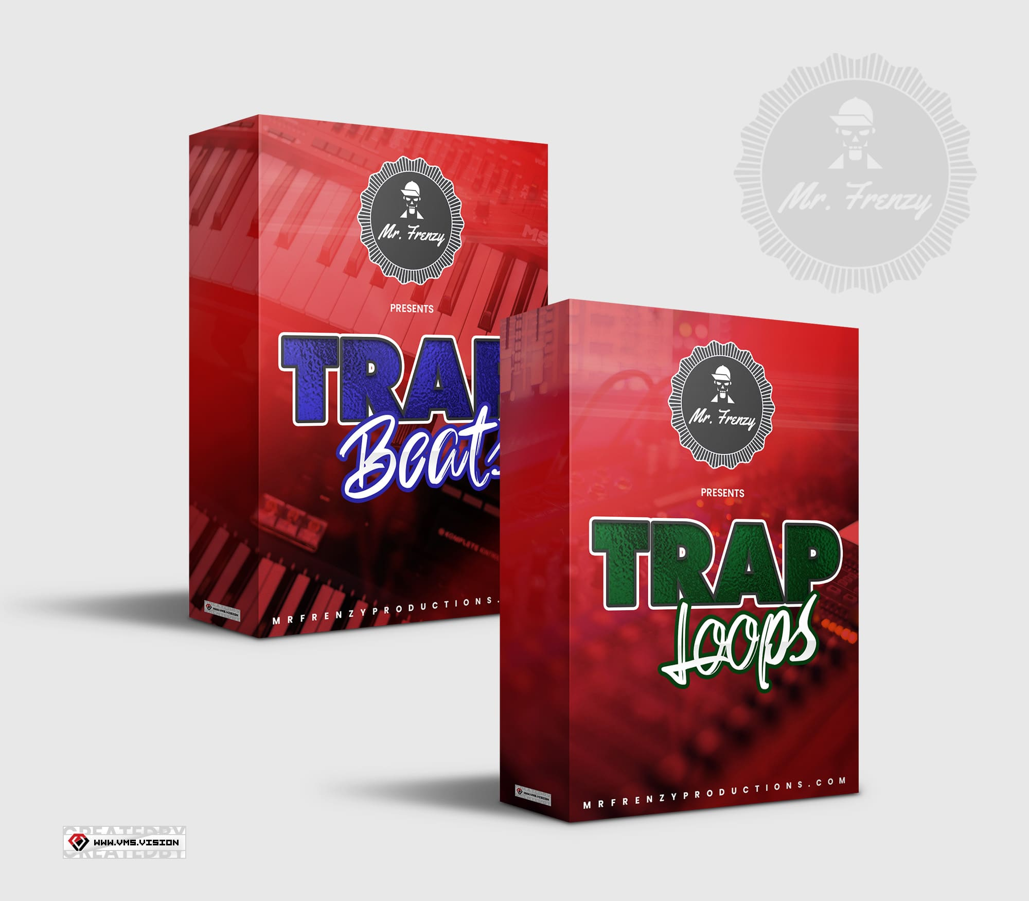 Mr Frenzy – Trap Beats and Trap Loops DrumKit Design