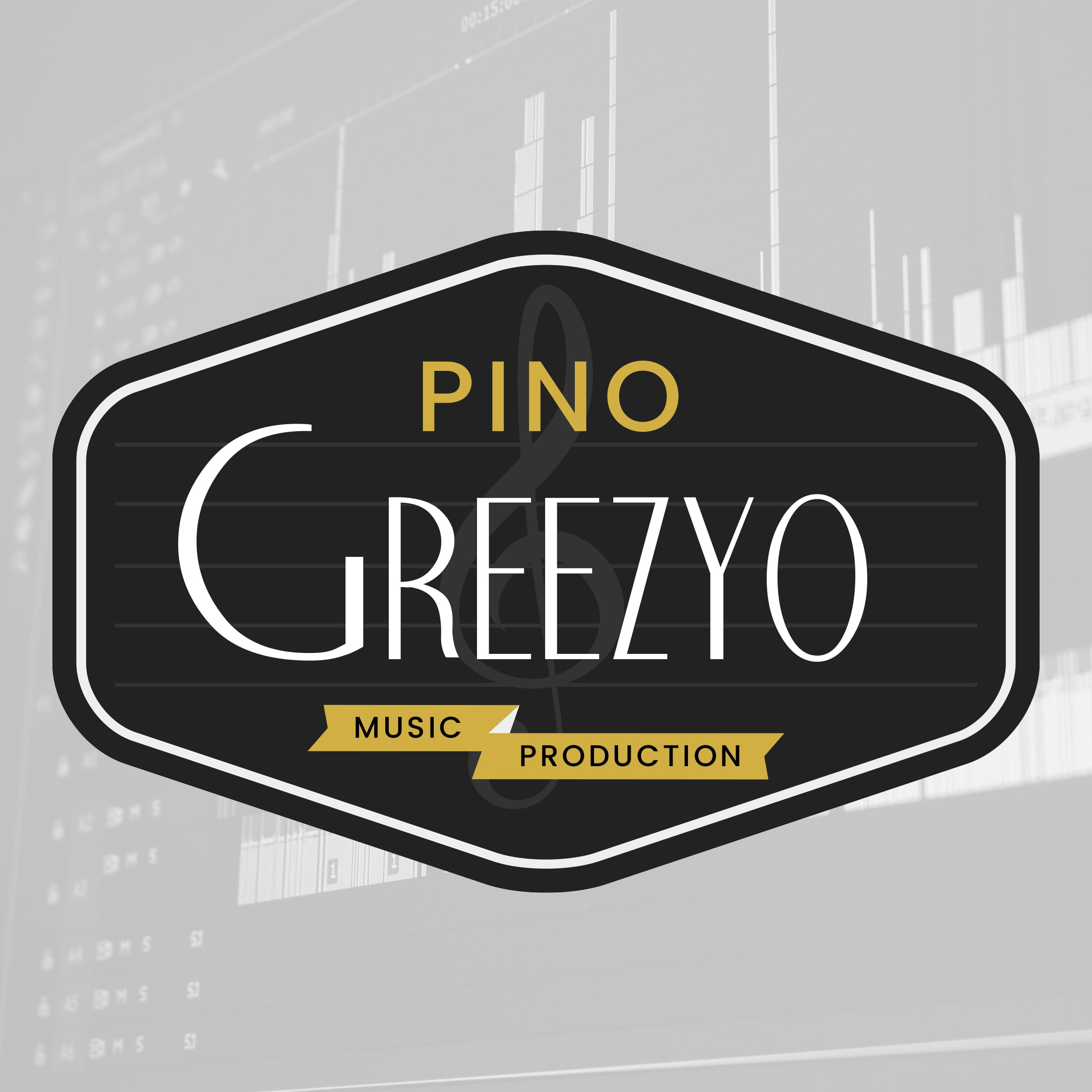 Pino Greezyo Custom Logo Design