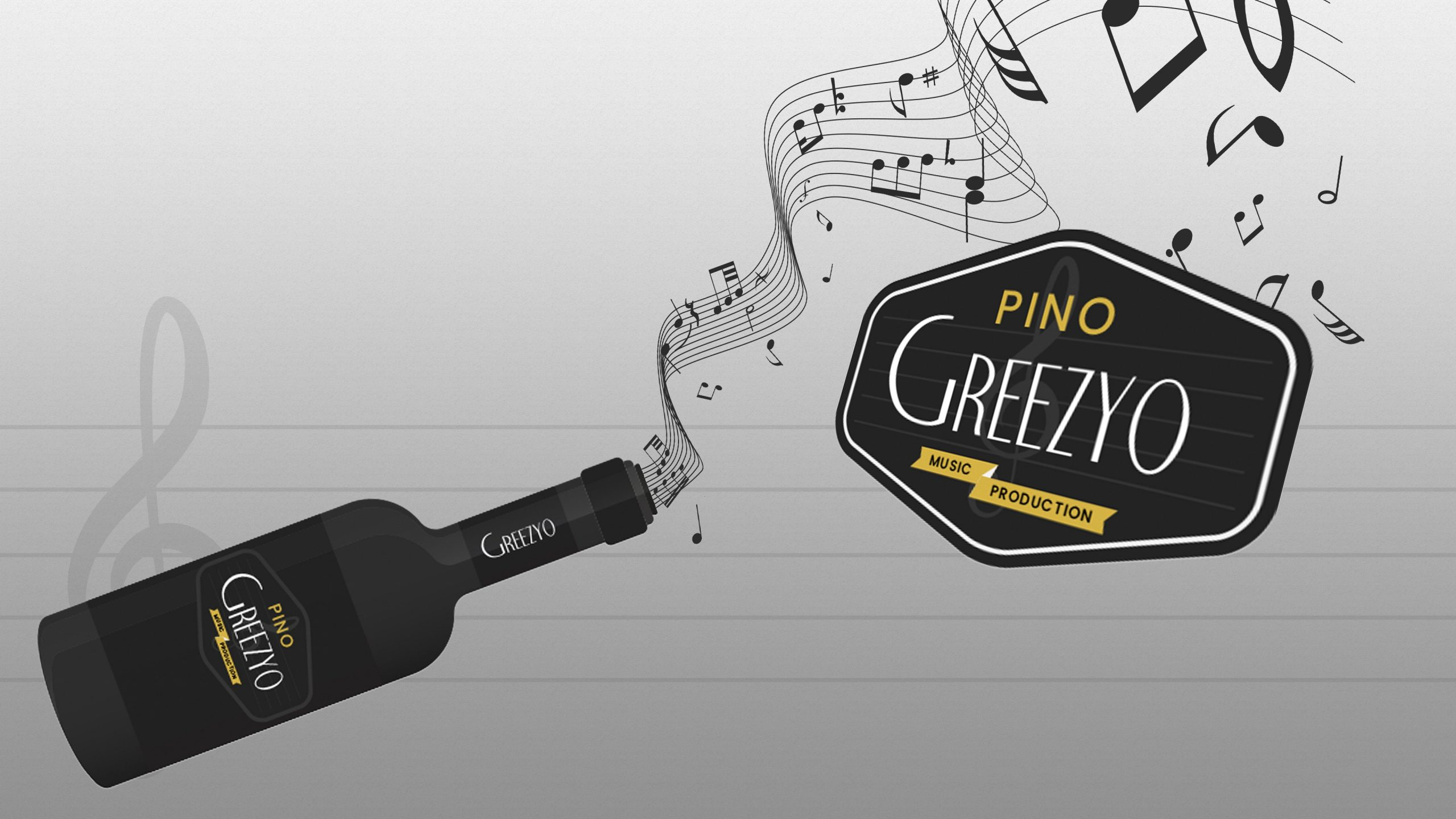 Pino Greezyo Custom Logo Design Peview
