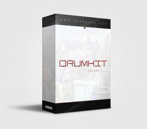 Premade Drumkit Box Design 032