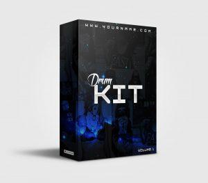 Premade Drumkit Box Design 035