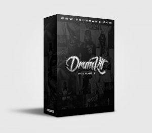 Premade Drumkit Box Design 036