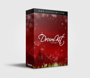 Premade Drumkit Box Design 037