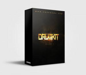 Premade Drumkit Box Design 038