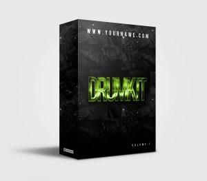 Premade Drumkit Box Design 039