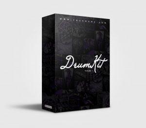 Premade Drumkit Box Design 040