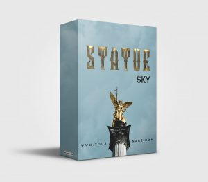 Statue Sky premade Drumkit Box Design