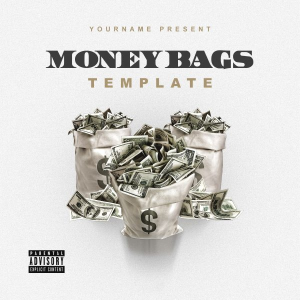 VMS - Money Bags - Mixtape Cover Template-min