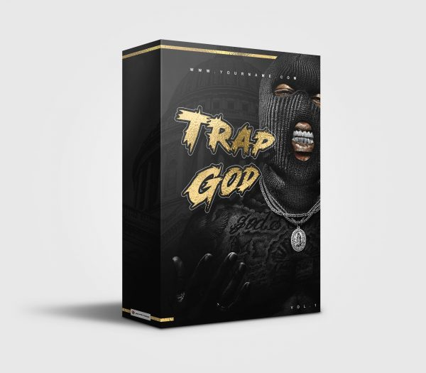 Trap God premade Drumkit Box Design
