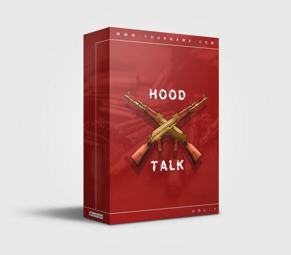 Hood Talk premade Drumkit Box Design