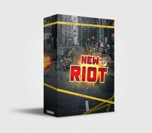 New Riot premade Drumkit Box Design