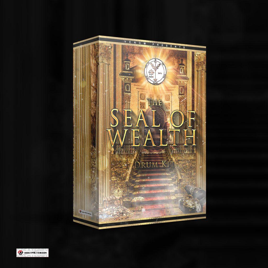 Venom Beats - The Seal of Wealth Drumkit Custom Design