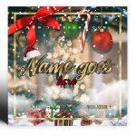 Christmas 2020 Premade Mixtape Cover Art Design Preview