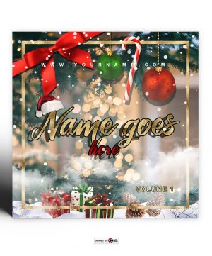Christmas 2020 Premade Mixtape Cover Art Design Preview