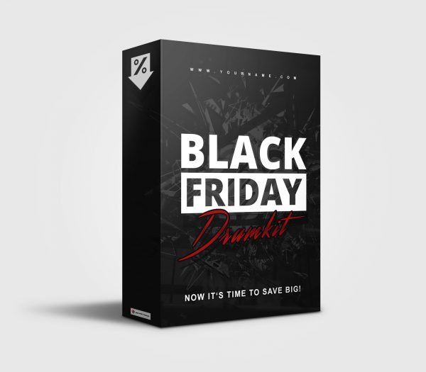 Black Friday premade Drumkit Box Design