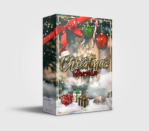 Christmas 2020 premade Drumkit Box Design