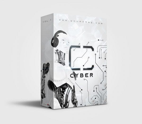 Cyber premade Drumkit Box Design