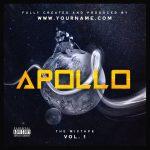 Apollo Premade Mixtape Cover Art Design Front Preview