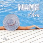 Summer Vibes Premade Mixtape Cover Art Design Front Preview