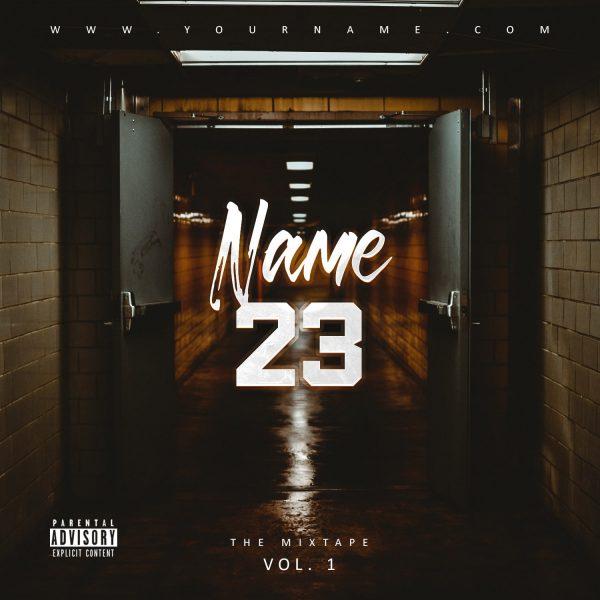 Trakt 23 Premade Mixtape Cover Art Design Front Preview
