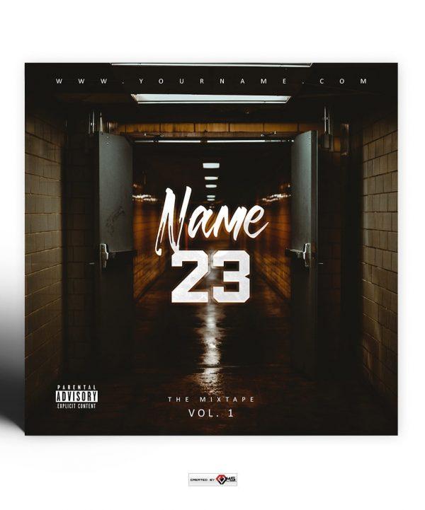 Trakt 23 Premade Mixtape Cover Art Design Preview