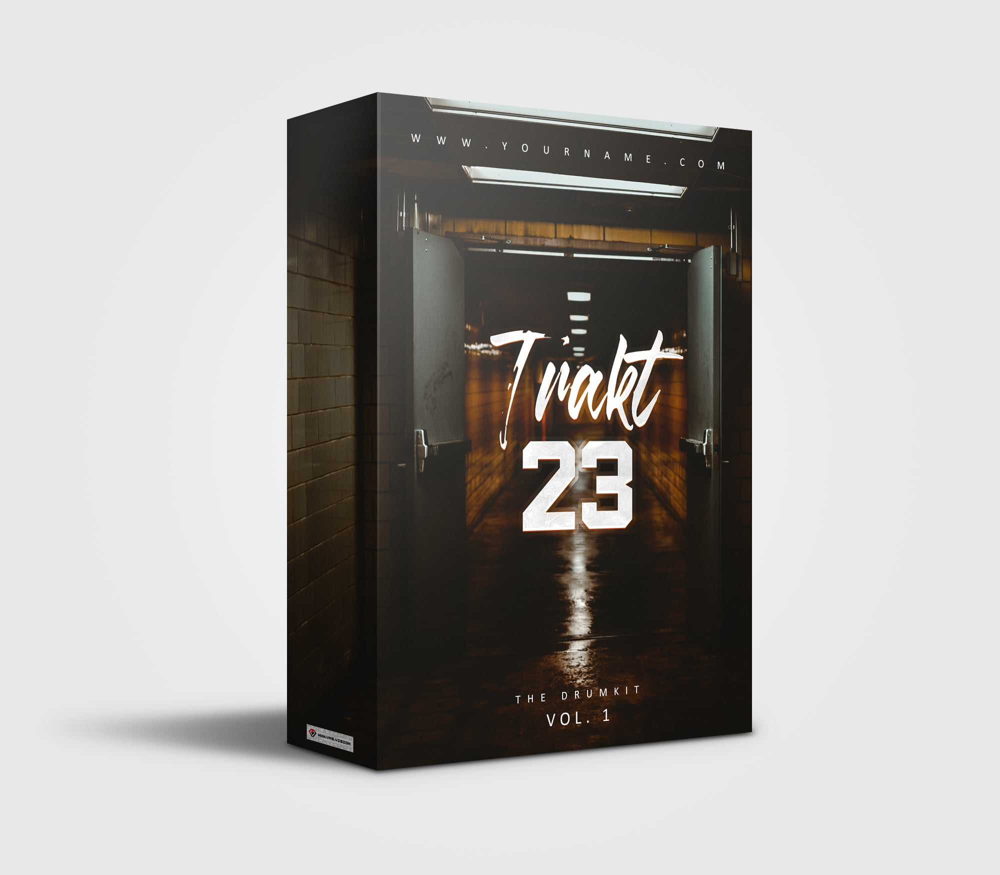 Trakt 23 premade Drumkit Box Design