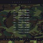 Camouflage Premade Mixtape Cover Art Tracklist Design Preview