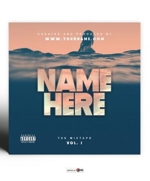 Deep Sea Premade Mixtape Cover Art Design Preview