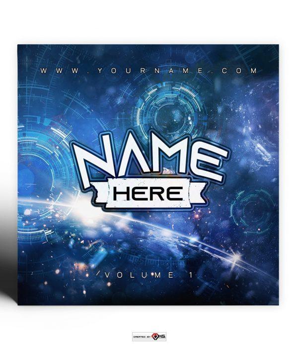 Digital Audio Premade Mixtape Cover Art Design Preview