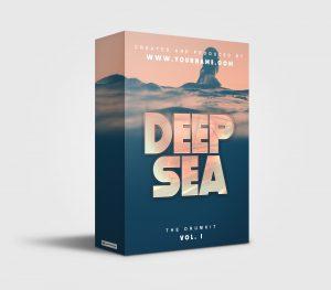 Deep Sea premade Drumkit Box Design